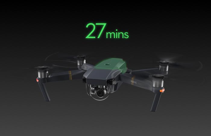 DJI Mavic Pro Drone - Fly More Combo RTF