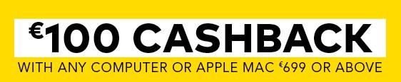 100 euro cashback