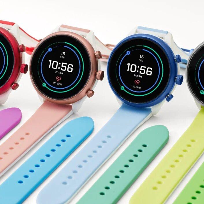 Fossil Sport 43mm Smart Watch | Blue