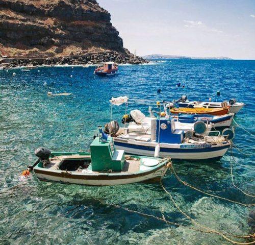 La baie d'Amoudi