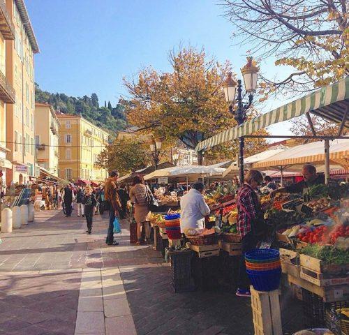 Cours Saleya Markt