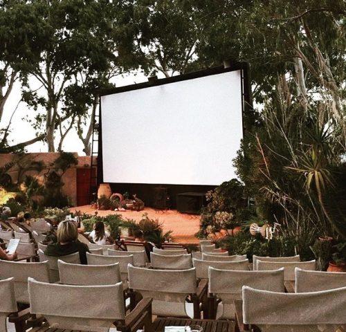 Cinéma en plein air Kamari