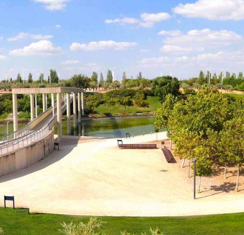 Parque de Juan Carlos I Madrid