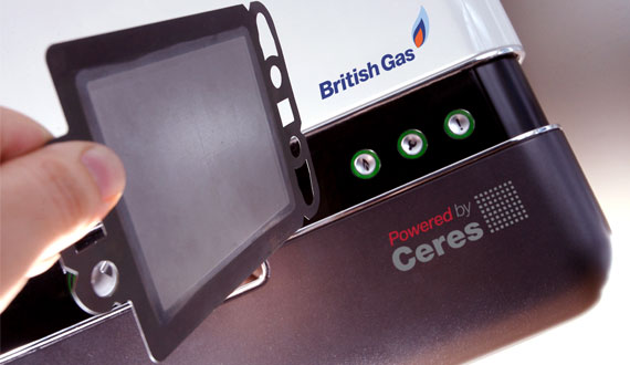 British Gas Fuel Cell Boiler