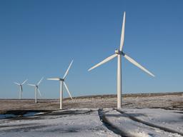 Wind turbine scout moor