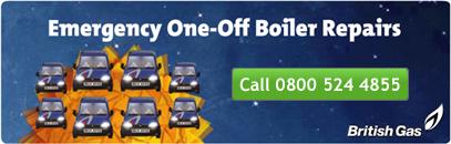 British Gas One-Off Boiler Repairs