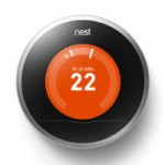 Picture of Nest smart thermostat