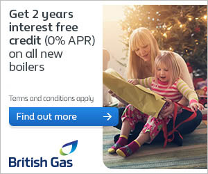 British Gas new boiler offer