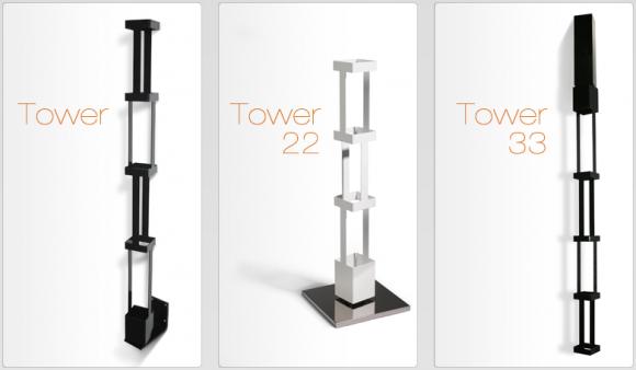 http://www.sololibrerie.it/Libreria-verticale-in-acciaio-Tower.aspx Tower è una libreria dal design pulito ed essenziale a sviluppo tutto verticale costituita da spazi che possono ospitare cd, dvd, riviste e libri. Prodotta da MotusMentis e disponibile come libreria pensile, libreria totem ed in una versione molto particolare come libreria a soffitto, la libreria Tower con attacco girevole è funzionale, versatile, pratica e soprattutto dotata di carattere, perfetta sia per ampi spazi che ambi