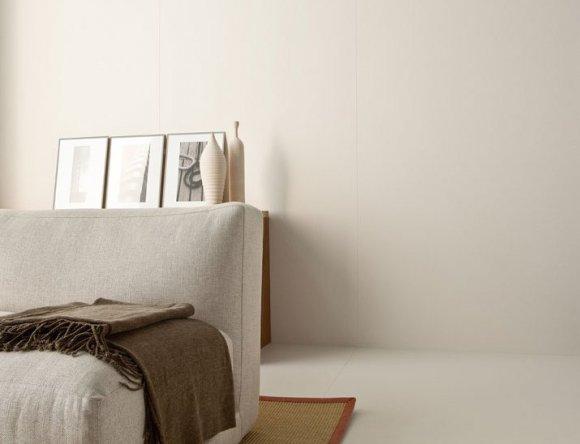 Gres porcellanato serie Slimtech Plus Shade, colore Milk 100x50cm. spessore 3,5mm. In vendita su www.dcasa.it