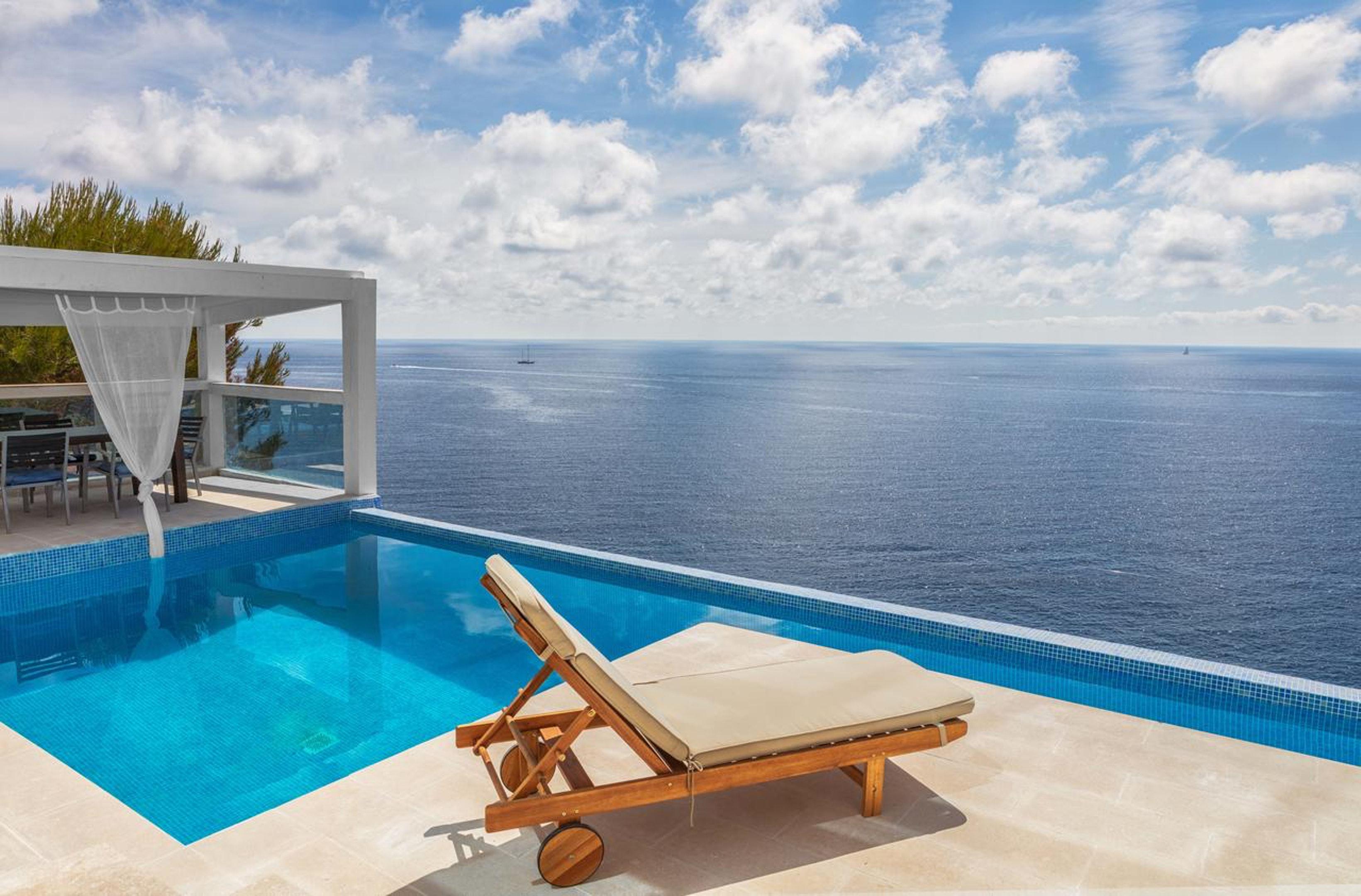 Villa mit 4 Schlafzimmern in El Toro mit herrlichem Meerblick privatem Pool möbliertem Garten