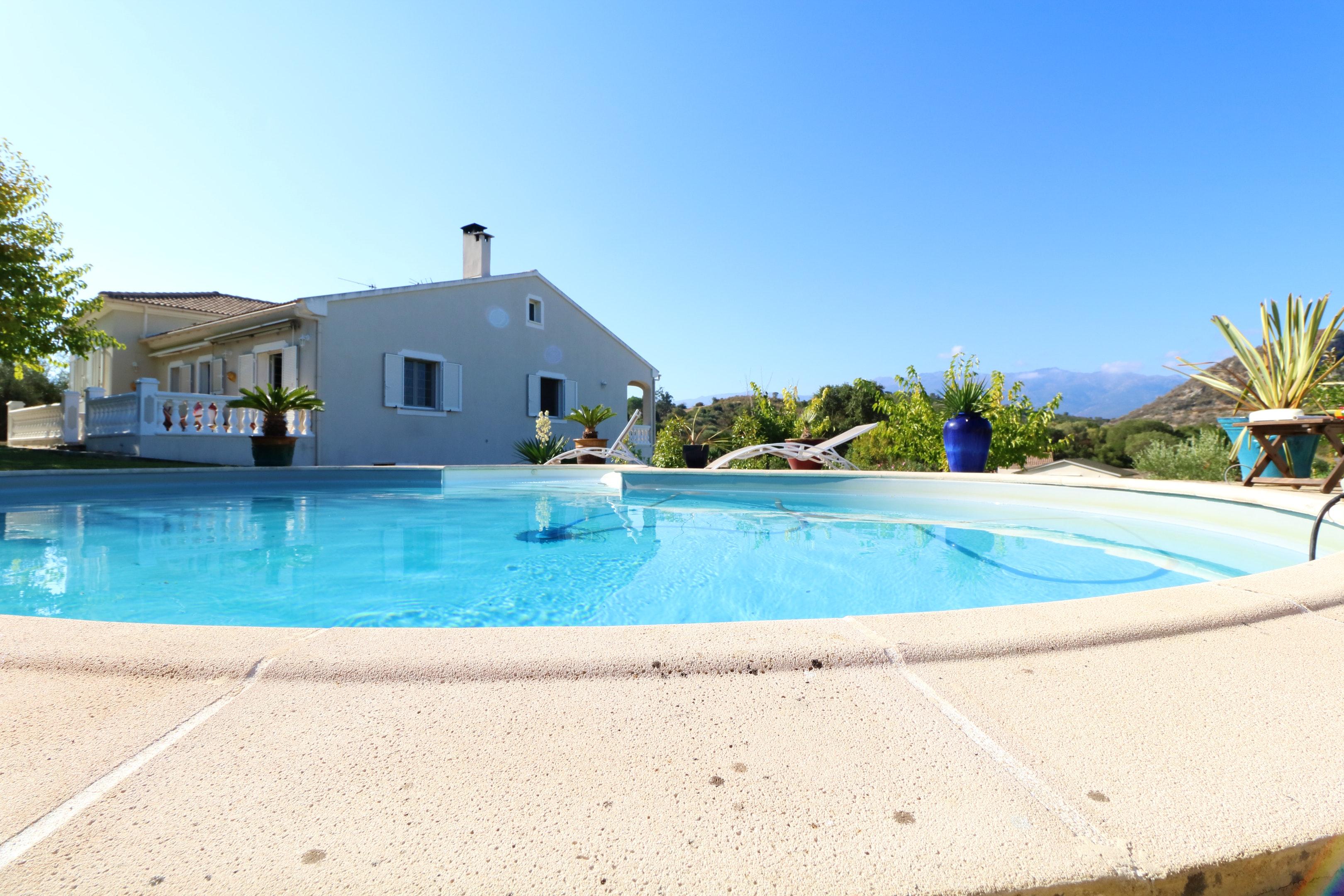 Villa mit 3 Schlafzimmern in Oletta mit toller Aus Villa in Frankreich