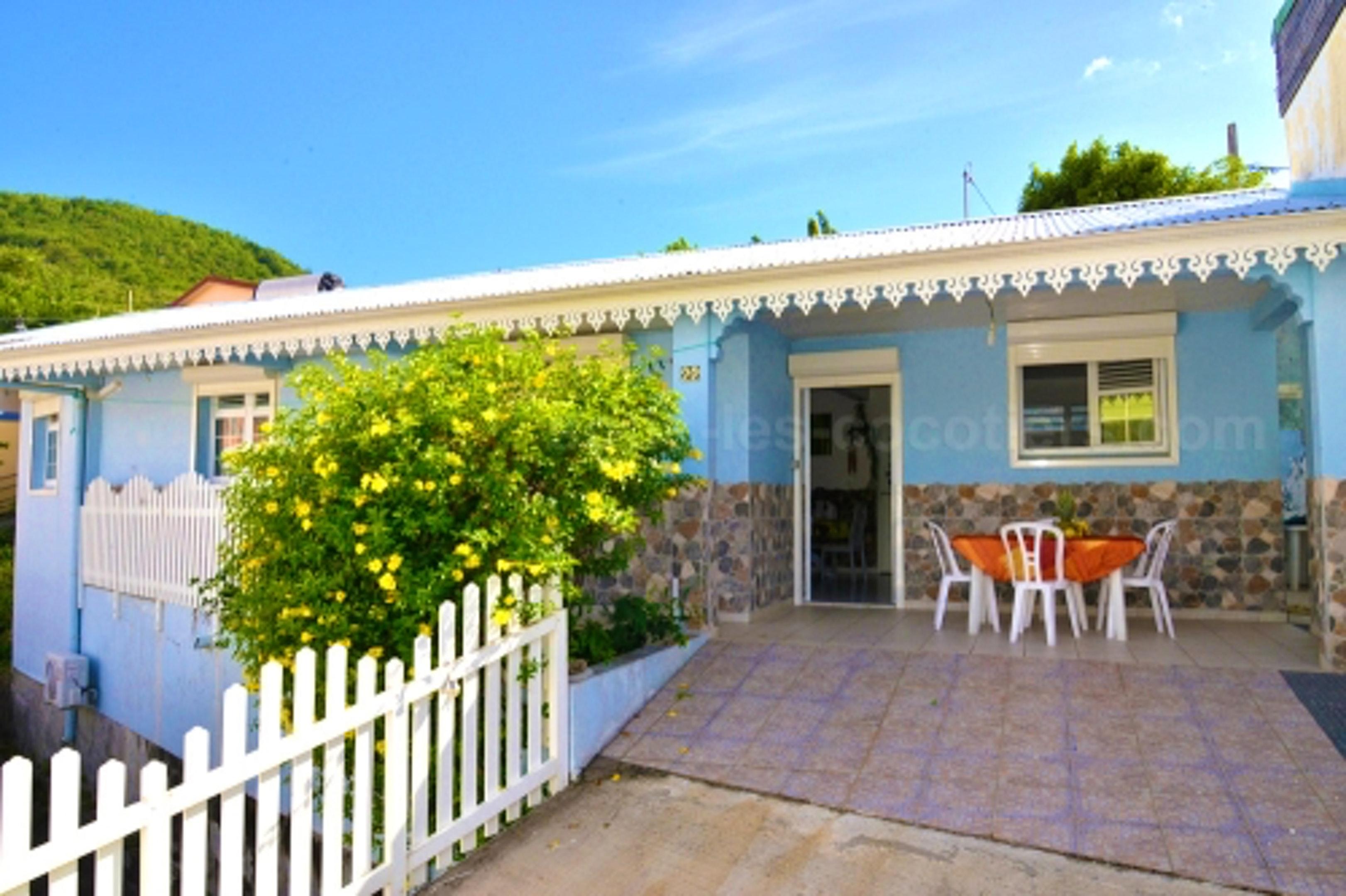 Haus mit 2 Schlafzimmern in Les Anses-d'Arlet mit eingezäuntem Garten und W-LAN - 150 m vom Strand entfernt