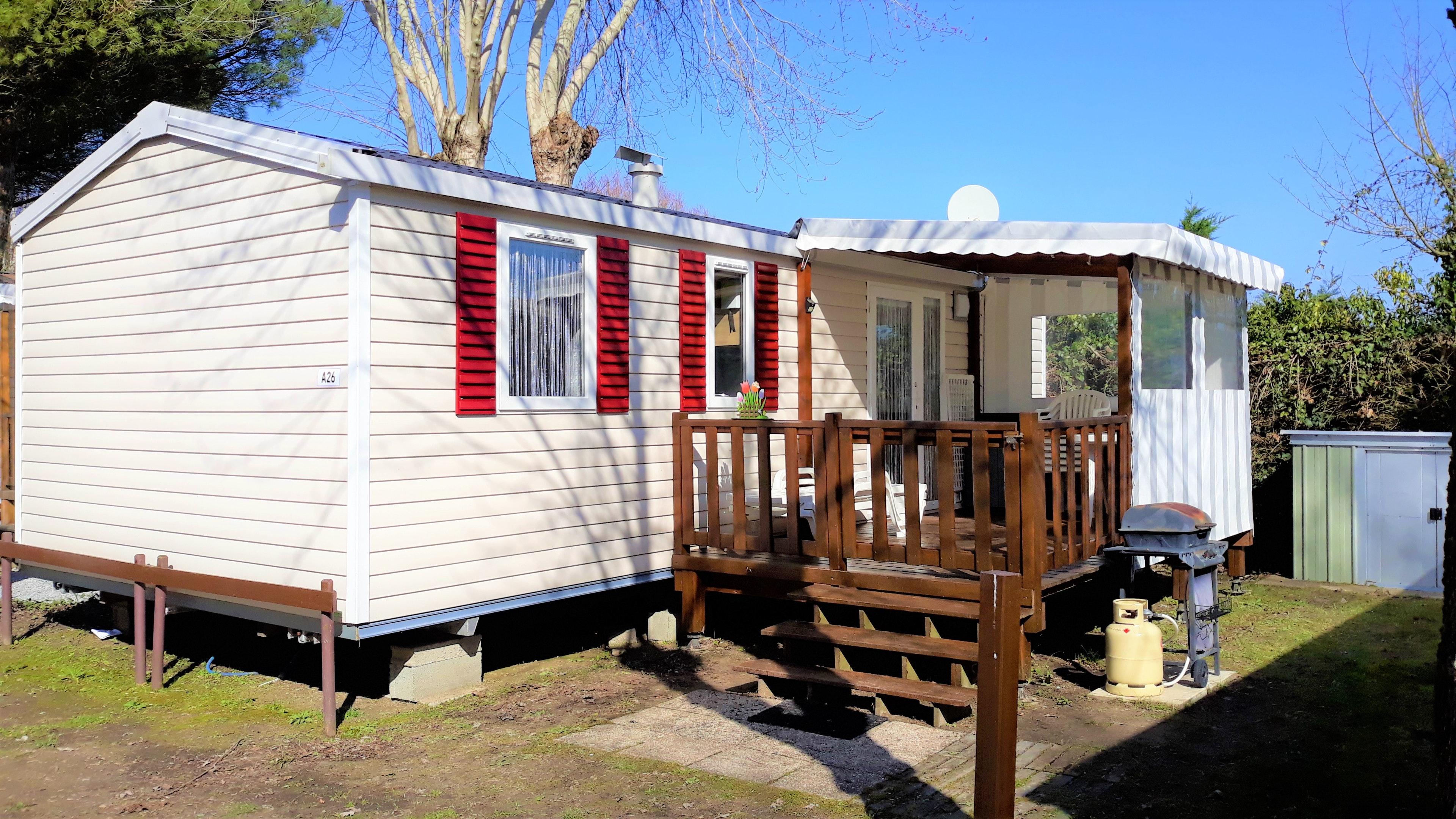 Bungalow mit 3 Schlafzimmern in Saint-Jean-de-Mont Hütte in Frankreich