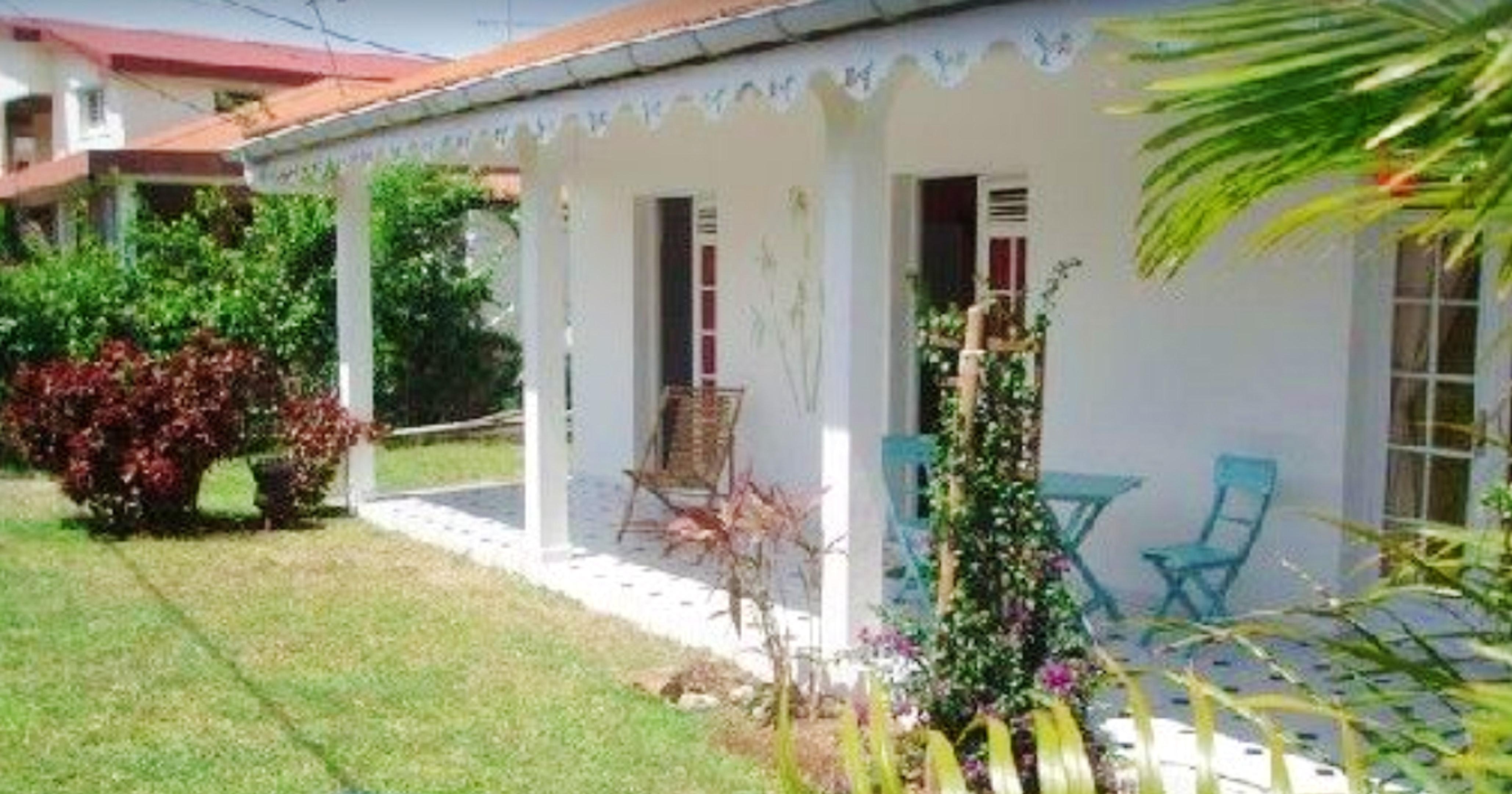 Haus mit 2 Schlafzimmern in saint  anne  mit eingezäuntem Garten und W-LAN