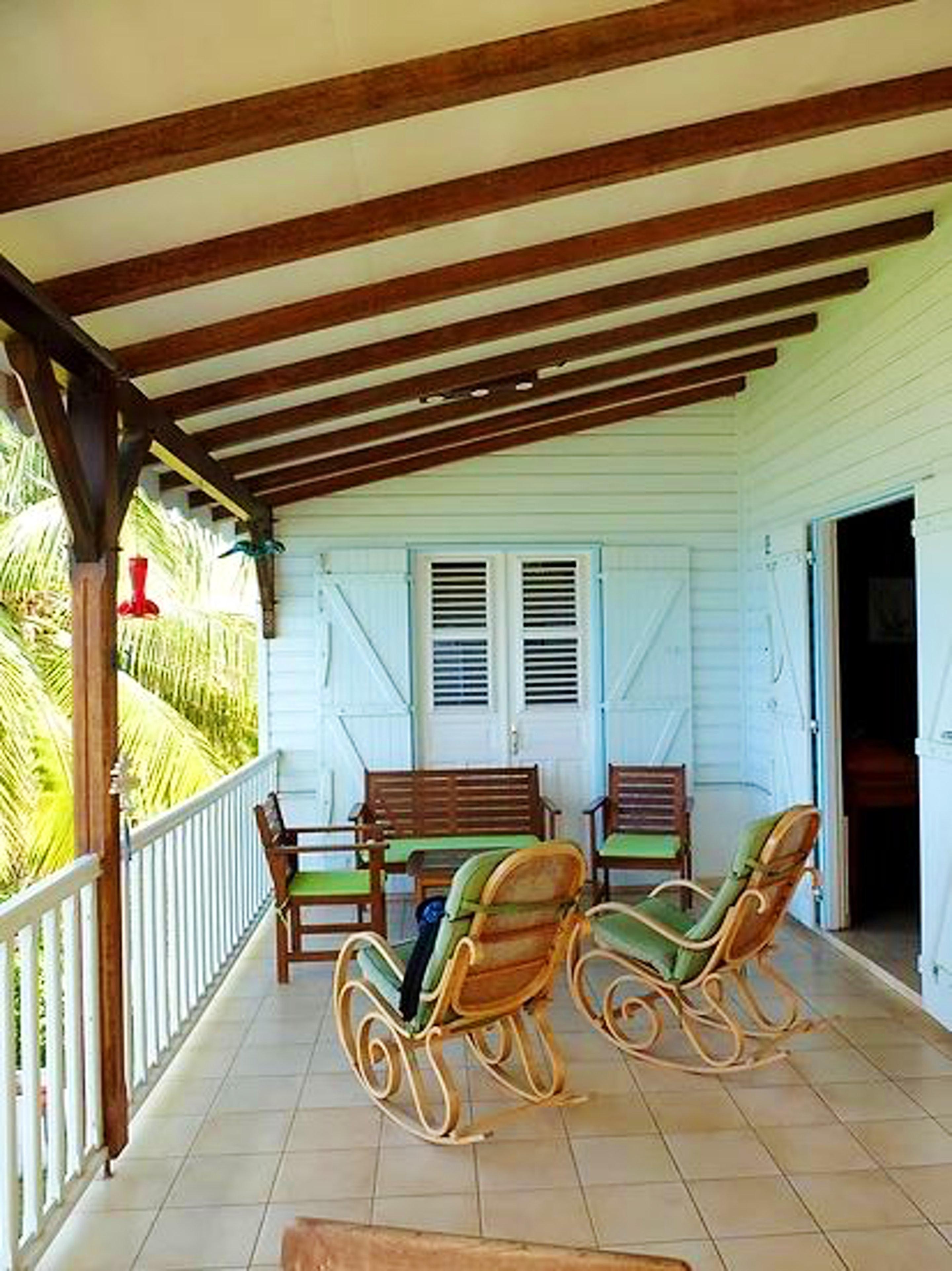 Haus mit 5 Schlafzimmern in Les Anses-d'Arlet mit herrlichem Meerblick, eingezäuntem Garten und W-LAN