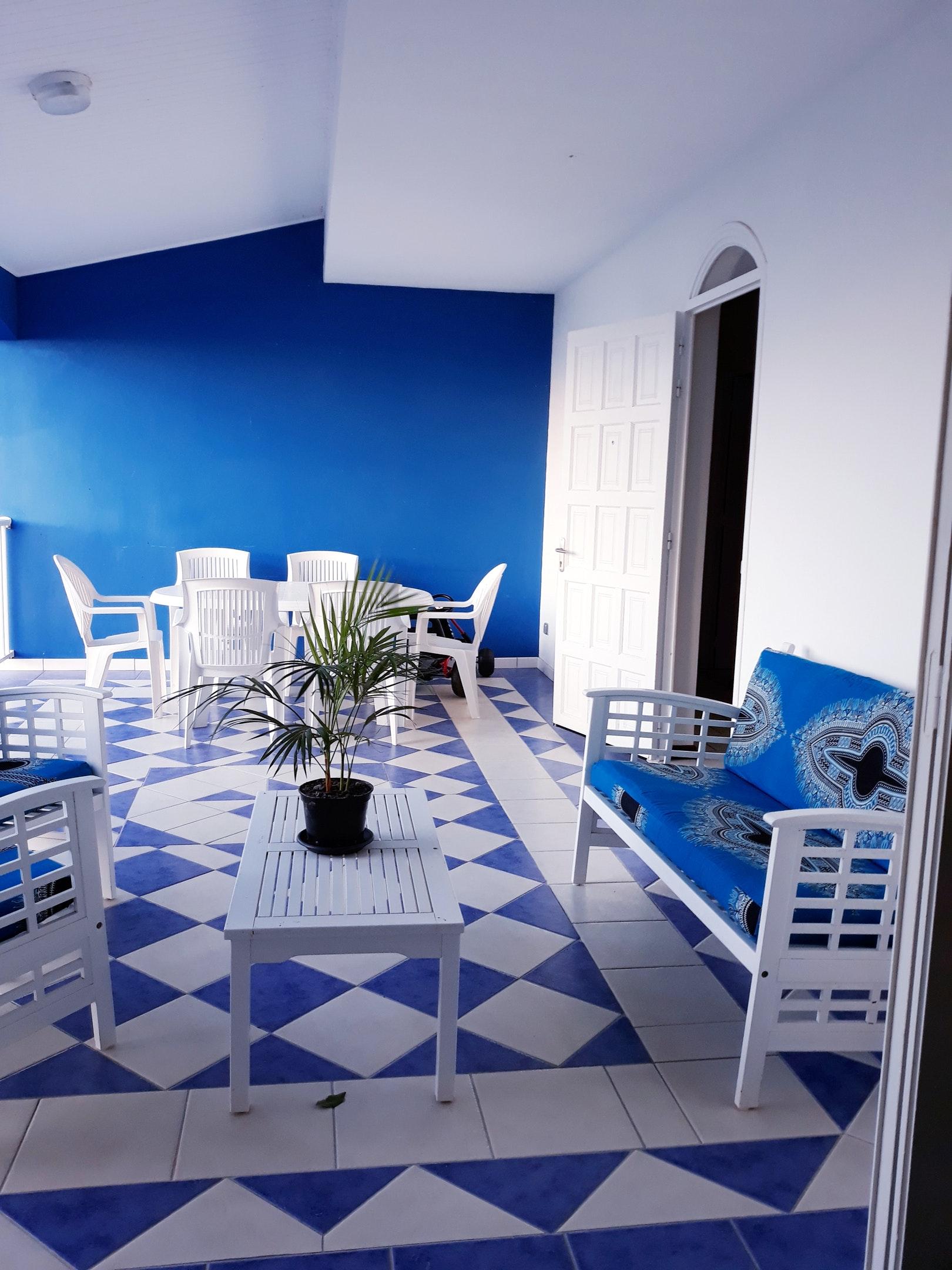 Casa de 2 habitaciones en Le Carbet, con magnificas vistas al mar, jardín amueblado y WiFi - a 500 m de la playa