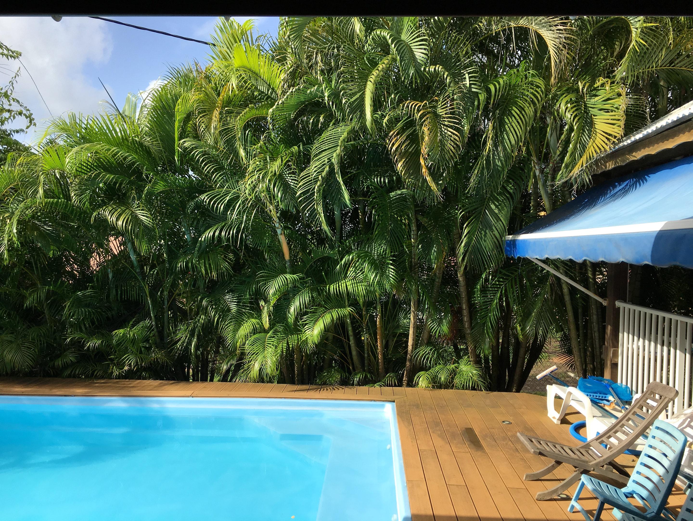 Apartamento de 3 habitaciones en Le Robert, con magnificas vistas al mar, piscina privada, jardín cerrado - a 8 km de la playa