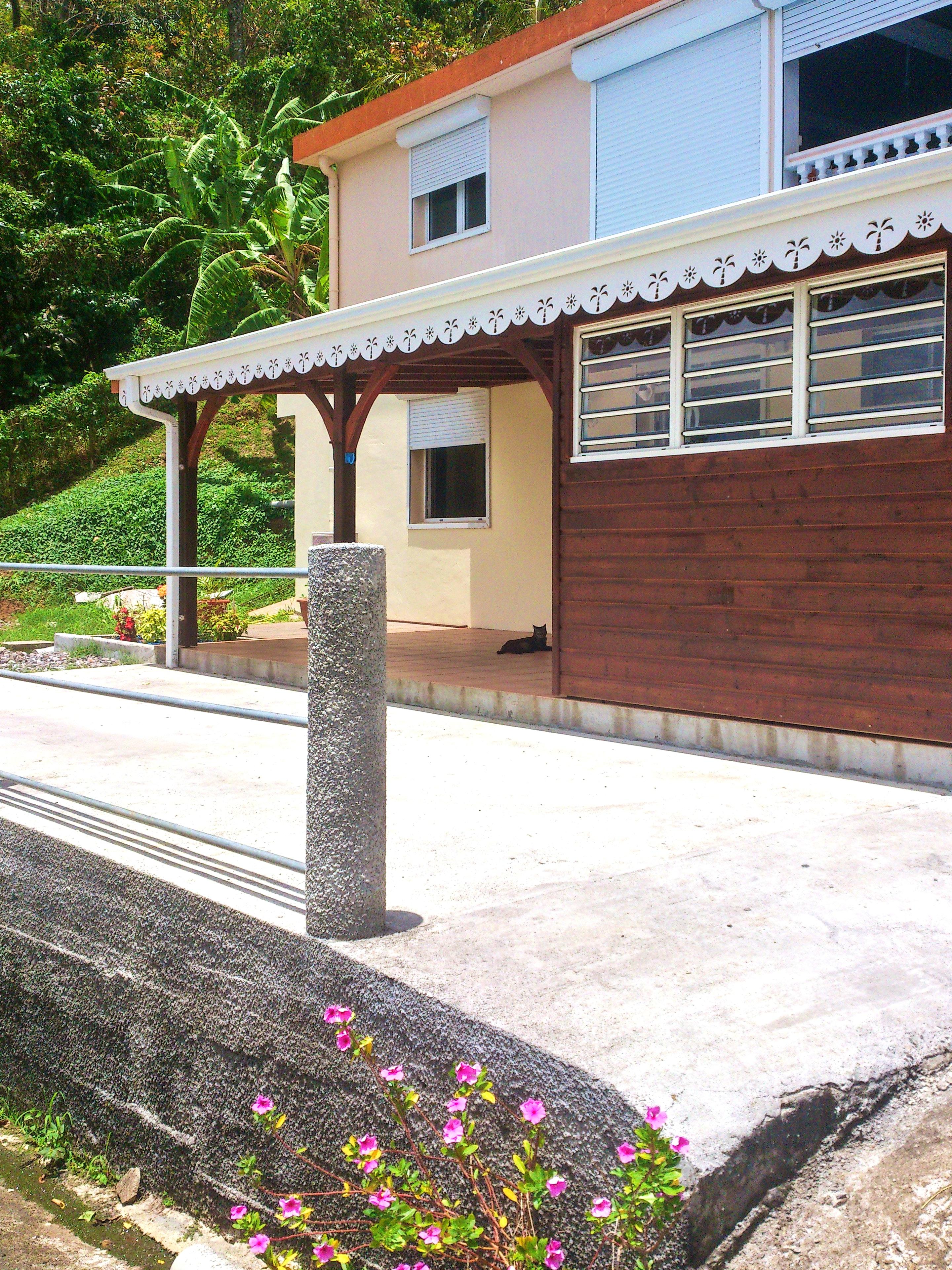 Wohnung mit einem Schlafzimmer in Rivière-Pilote mit eingezäuntem Garten und W-LAN - 4 km vom Strand entfernt