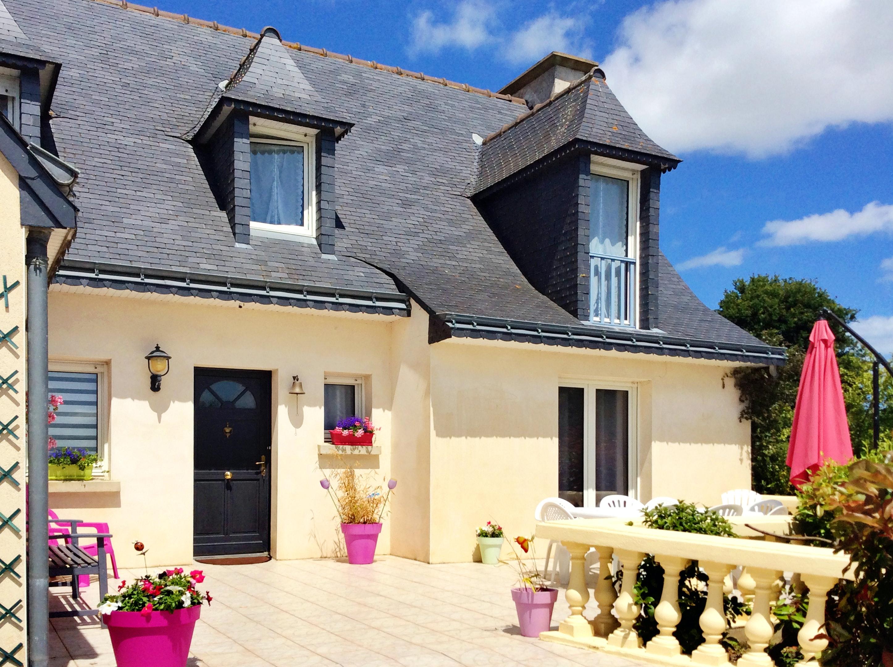 Haus mit 4 Schlafzimmern in Trégomeur mit m Ferienhaus in Frankreich