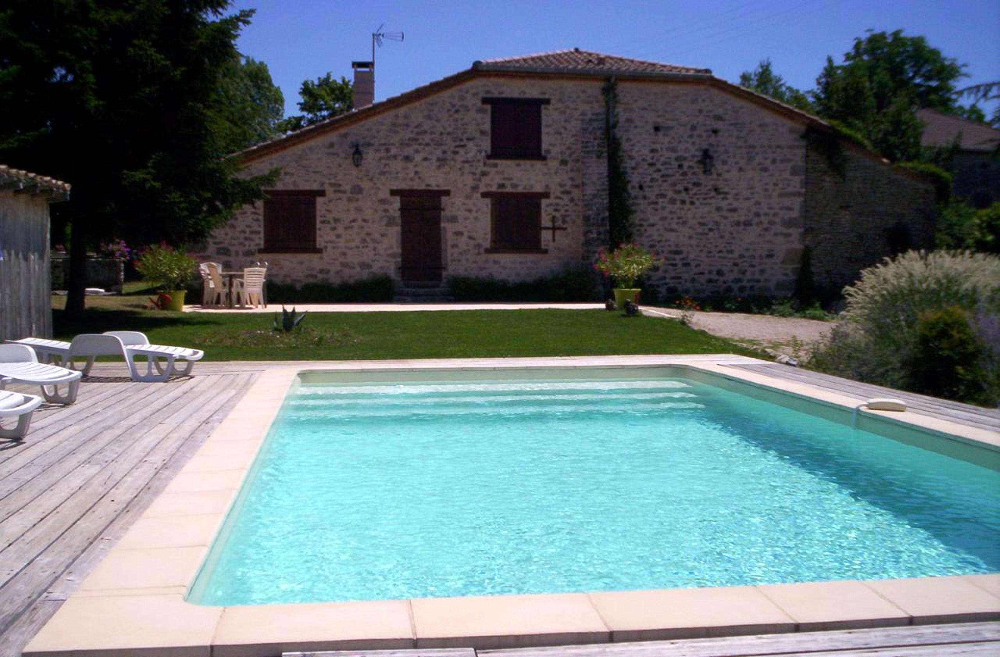 Haus mit 3 Schlafzimmern in Saint Cirq mit privatem Pool möblierter Terrasse und W LAN