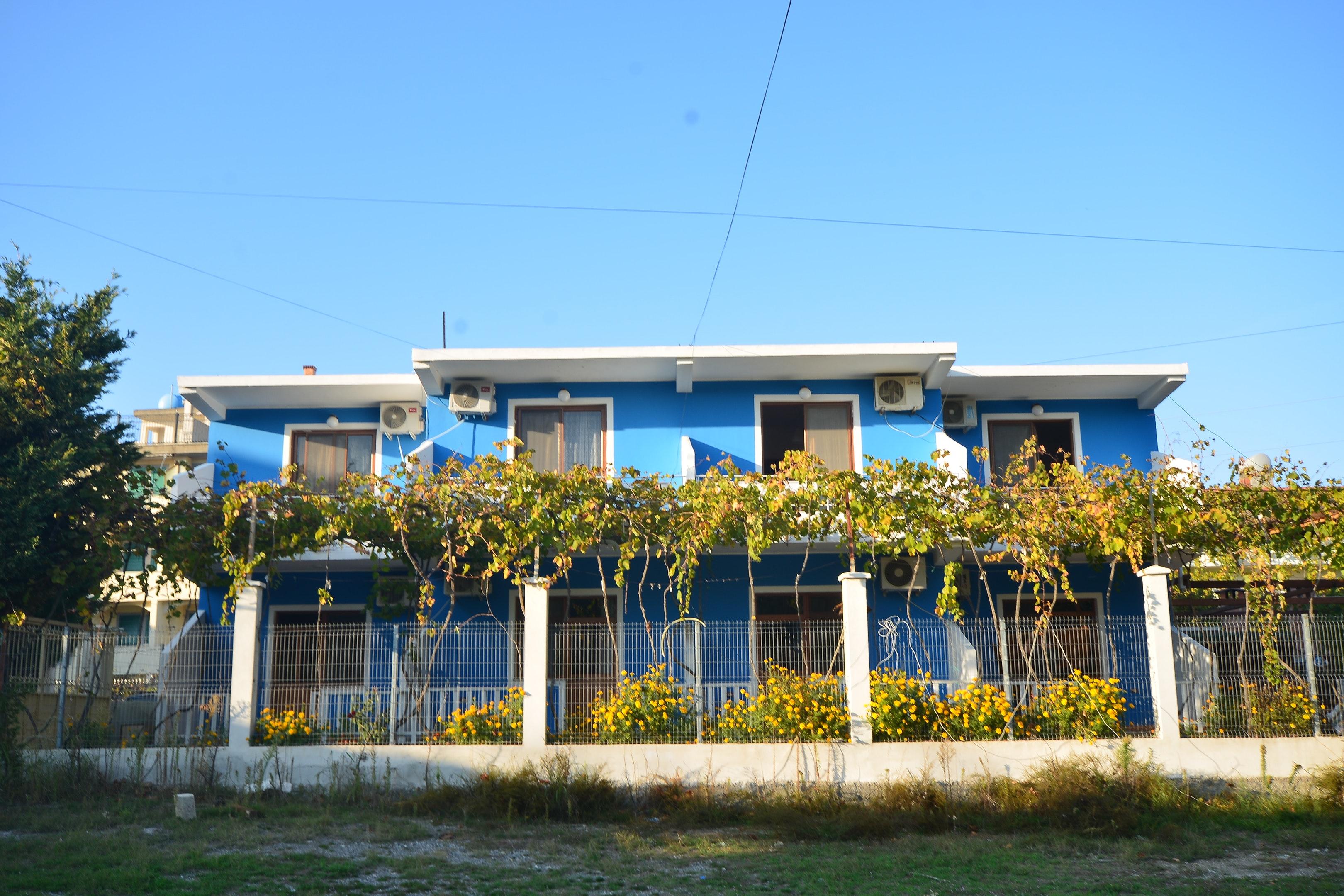 Wohnung mit einem Schlafzimmer in Velipojë mit möbliertem Balkon und W-LAN