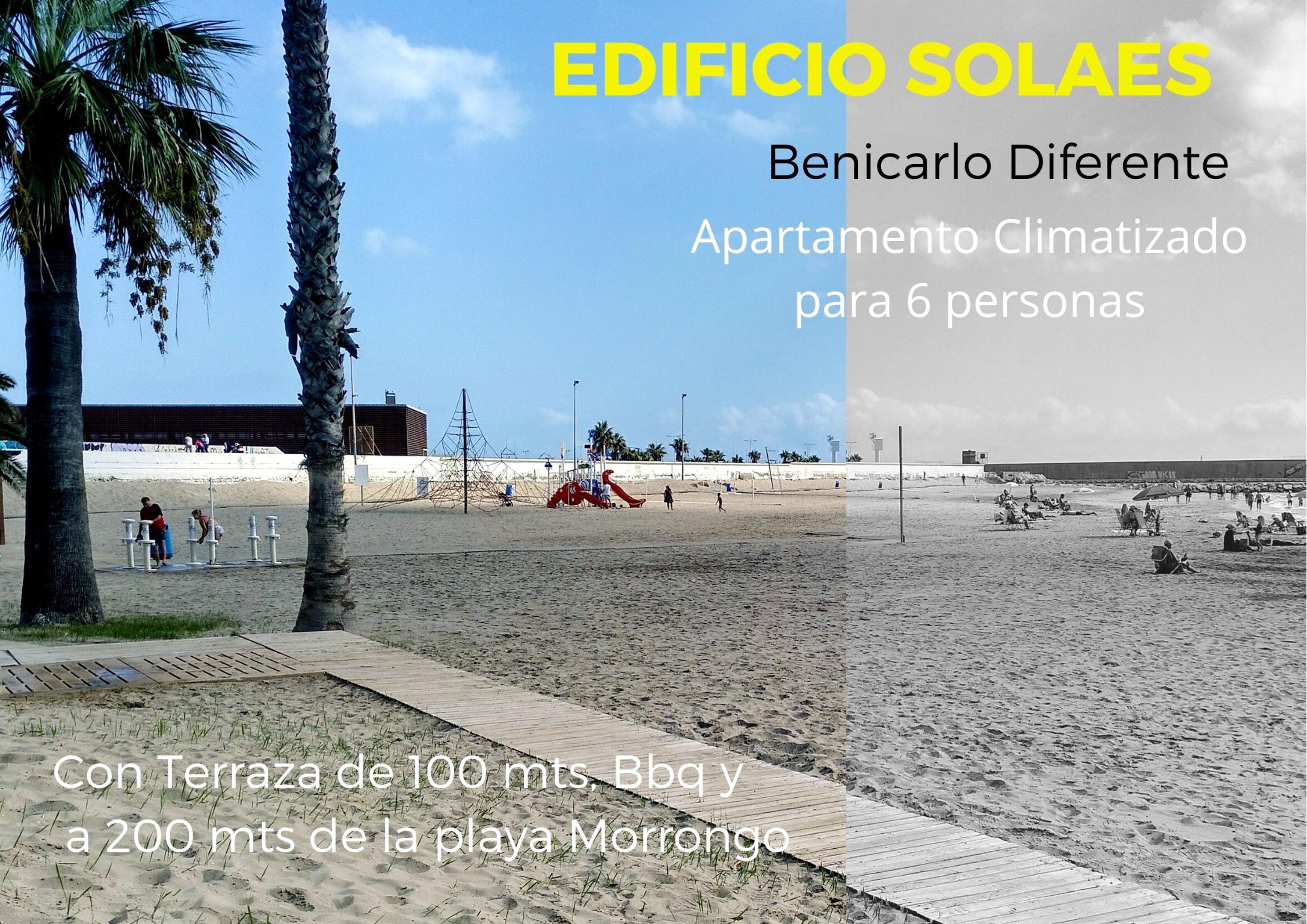 Wohnung mit 2 Schlafzimmern in Benicarlo mit sch&o Ferienwohnung  Costa del Azahar