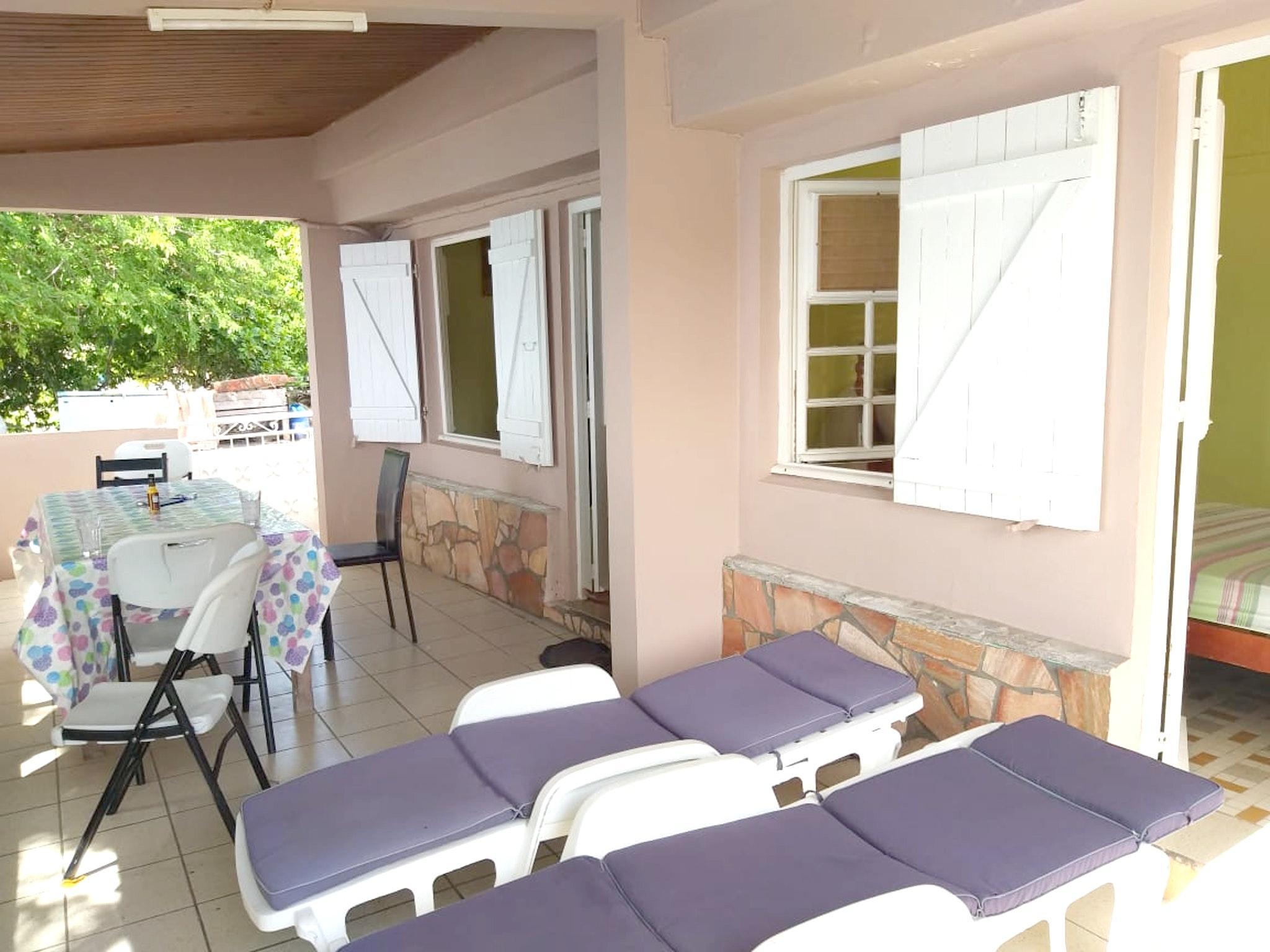 Haus mit 2 Schlafzimmern in Les Anses-d'Arlet mit herrlichem Meerblick, Terrasse und W-LAN