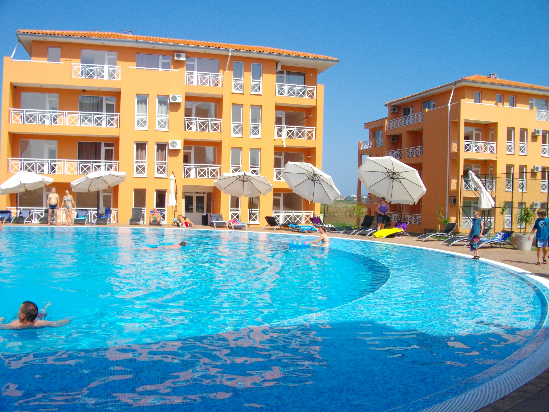 Studio in Tankovo mit Pool und Balkon 3 km vom Strand entfernt