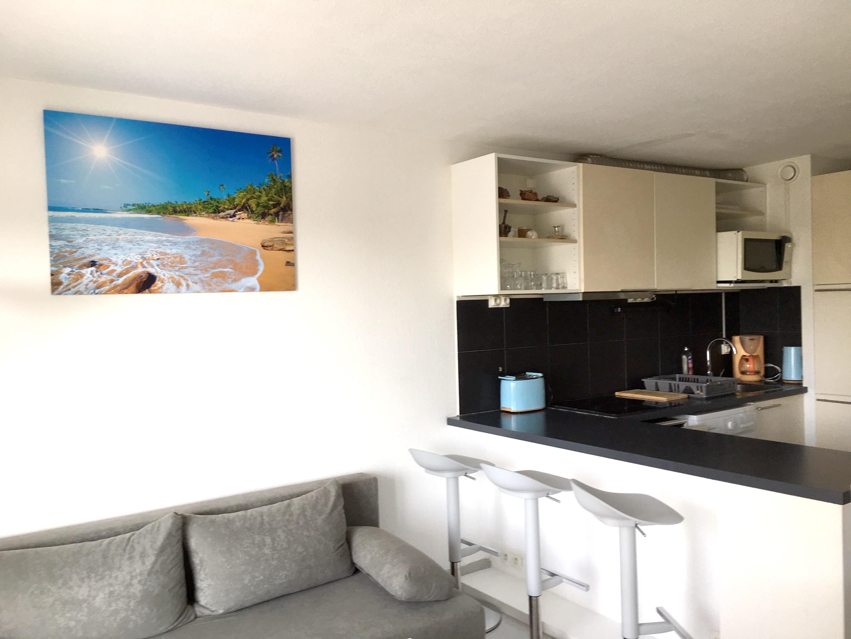 Wohnung mit einem Schlafzimmer in Fréjus mit W LAN 300 m vom Strand entfernt