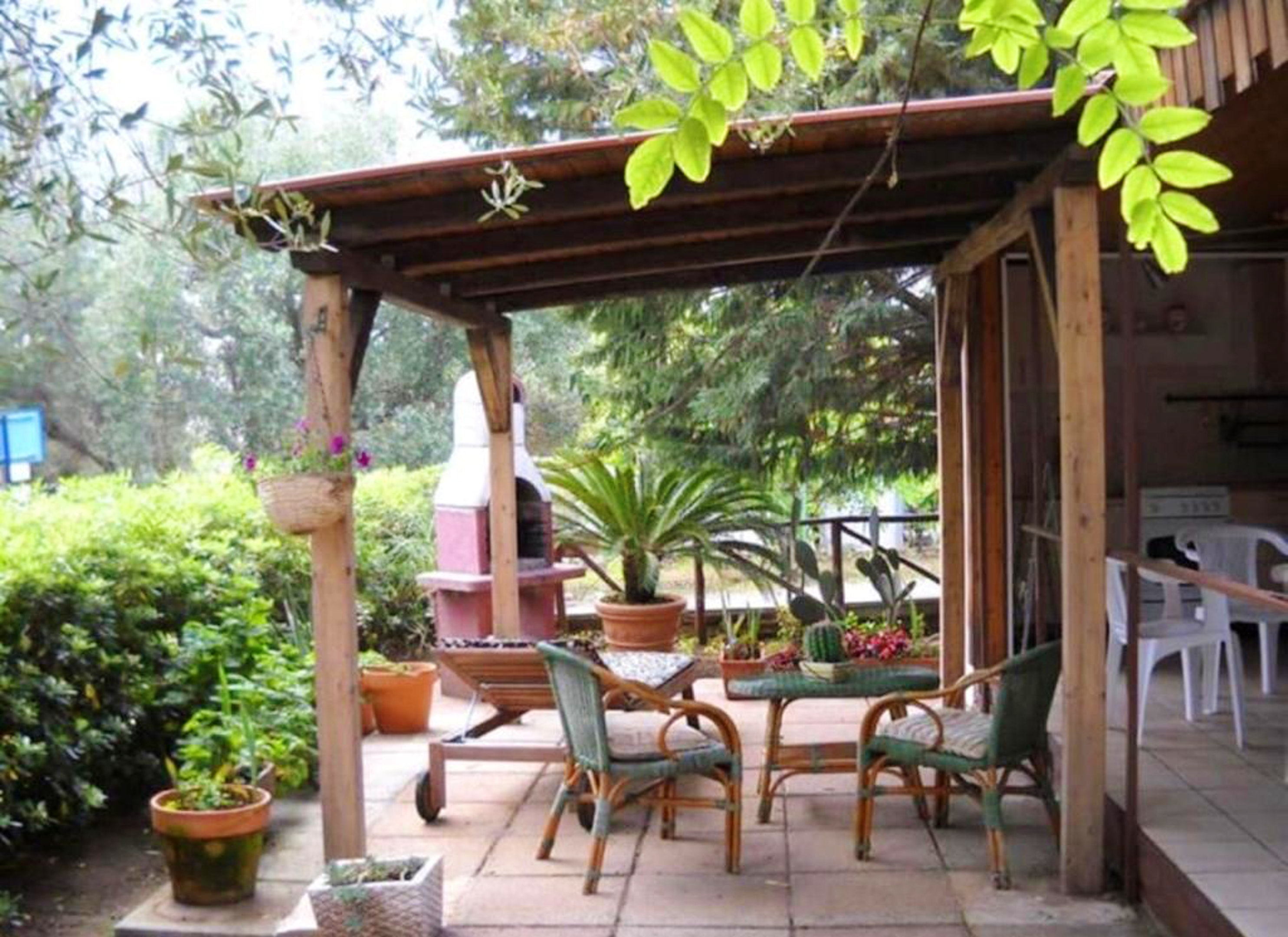 Bungalow mit 2 Schlafzimmern in Marina di Camerota Hütte in Italien