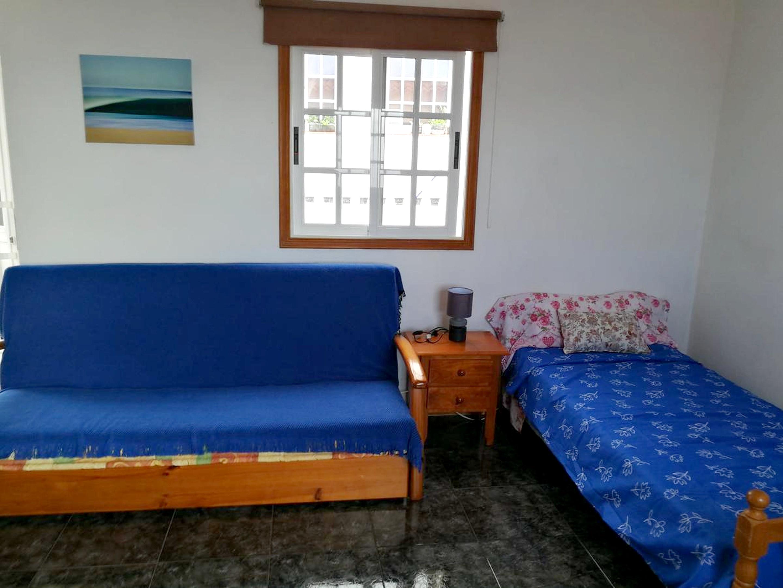 Studio in Frontera mit herrlichem Meerblick 2 km vom Strand entfernt