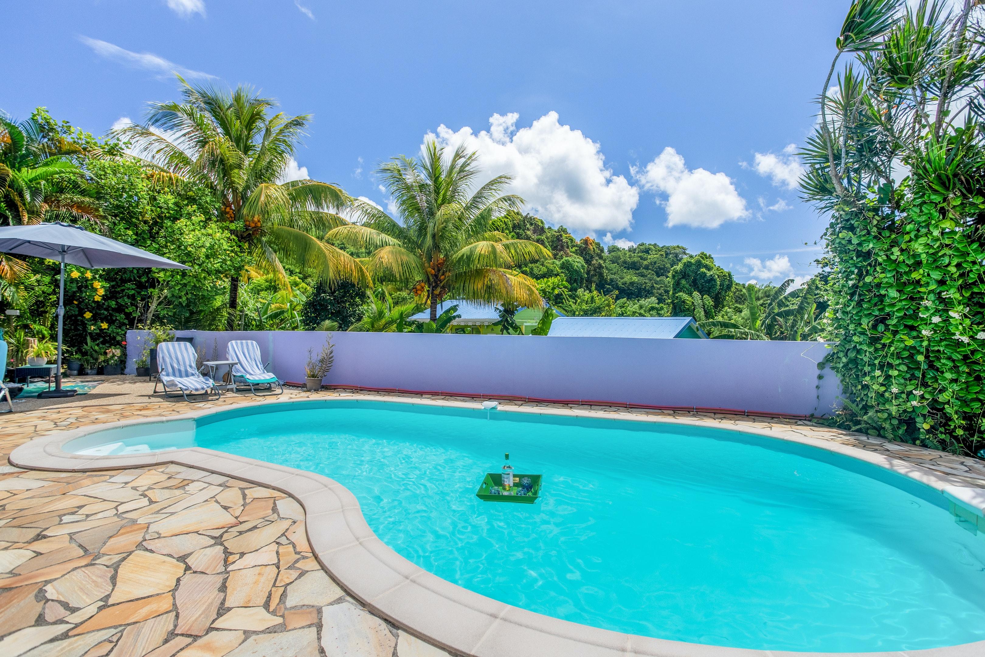 Haus mit 2 Schlafzimmern in Sainte-Luce mit privatem Pool, eingezäuntem Garten und W-LAN - 2 km vom Strand entfernt