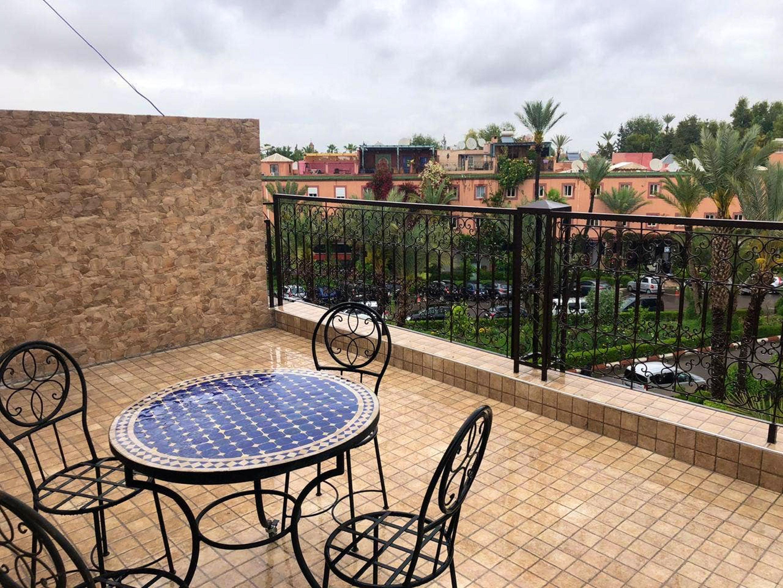 Wohnung mit 3 Schlafzimmern in Annakhil, Marrakech Ferienwohnung in Marokko