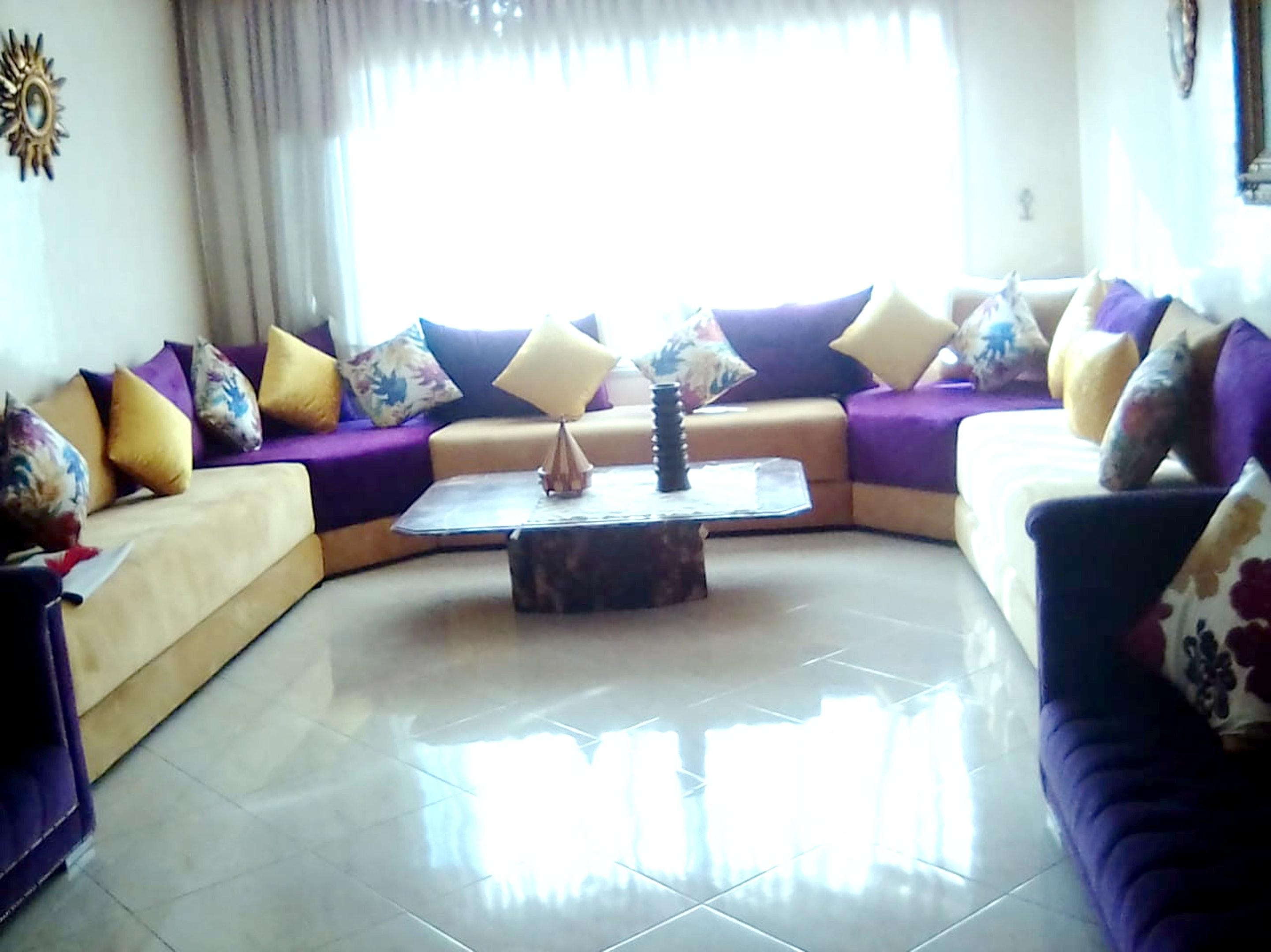 Wohnung mit einem Schlafzimmer in Casablanca mit s Ferienwohnung in Marokko