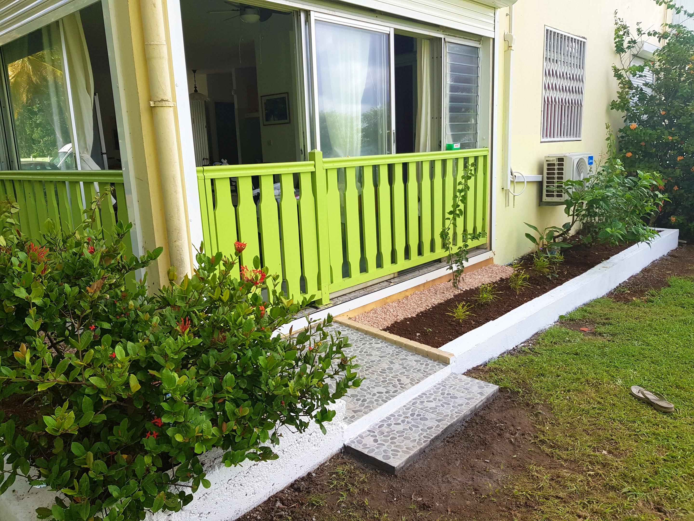 Wohnung mit einem Schlafzimmer in Sainte-Luce mit herrlichem Meerblick und möbliertem Garten - 150 m vom Strand entfernt