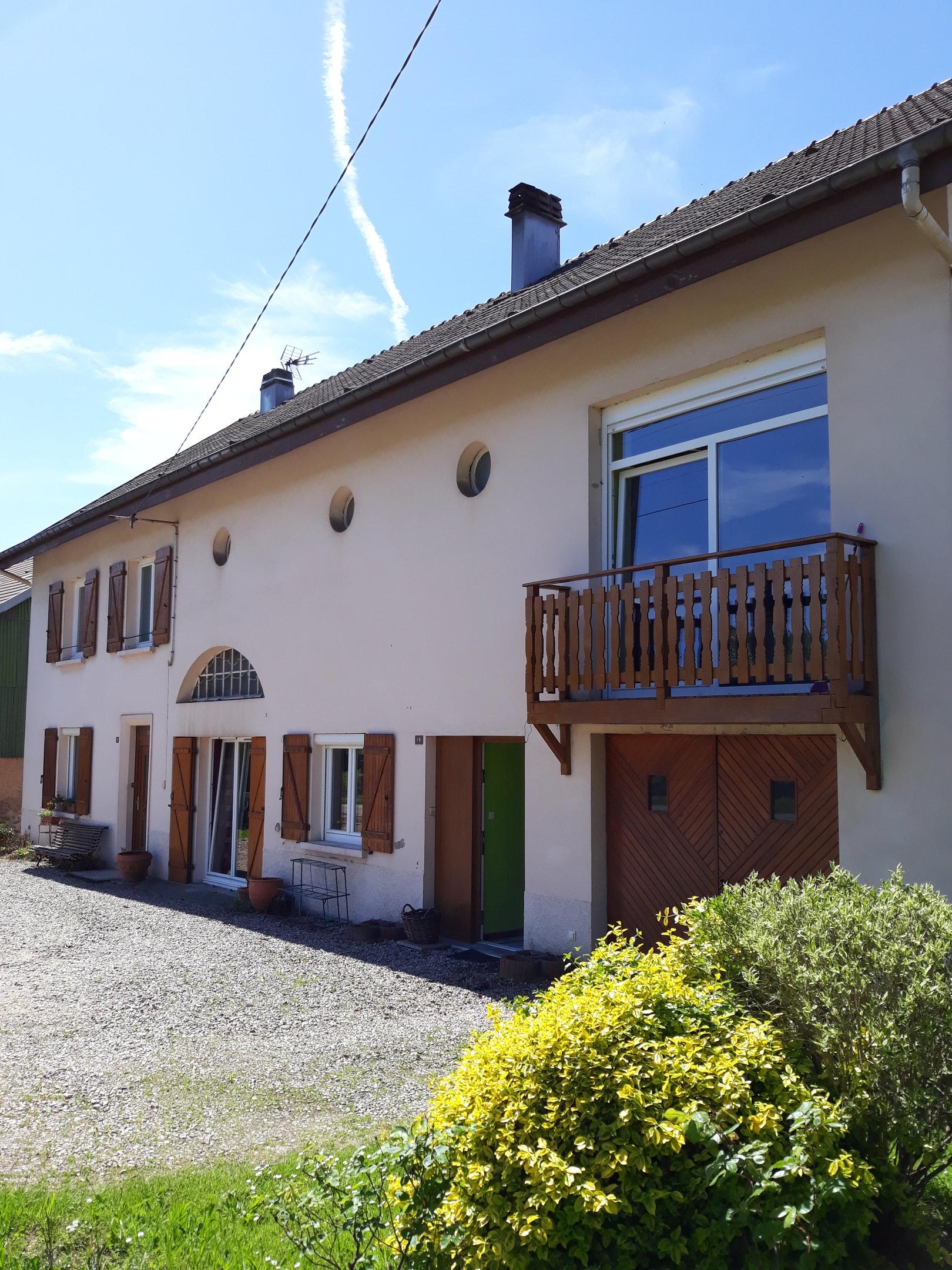 Wohnung mit 2 Schlafzimmern in Saint-Dié-de