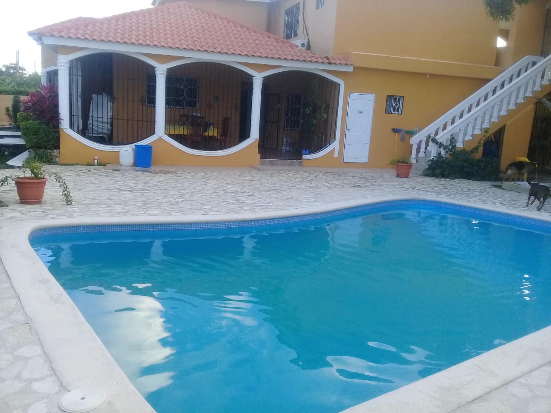 Villa mit 5 Schlafzimmern in Nagua mit privatem Po Villa in Mittelamerika und Karibik