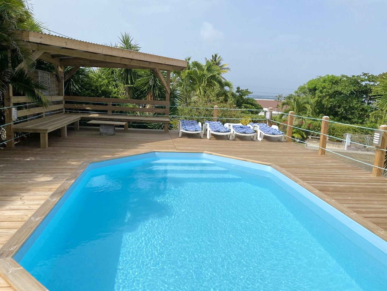 Villa mit 5 Schlafzimmern in Le Vauclin mit herrlichem Meerblick, privatem Pool, eingezäuntem Garten - 500 m vom Strand entfernt