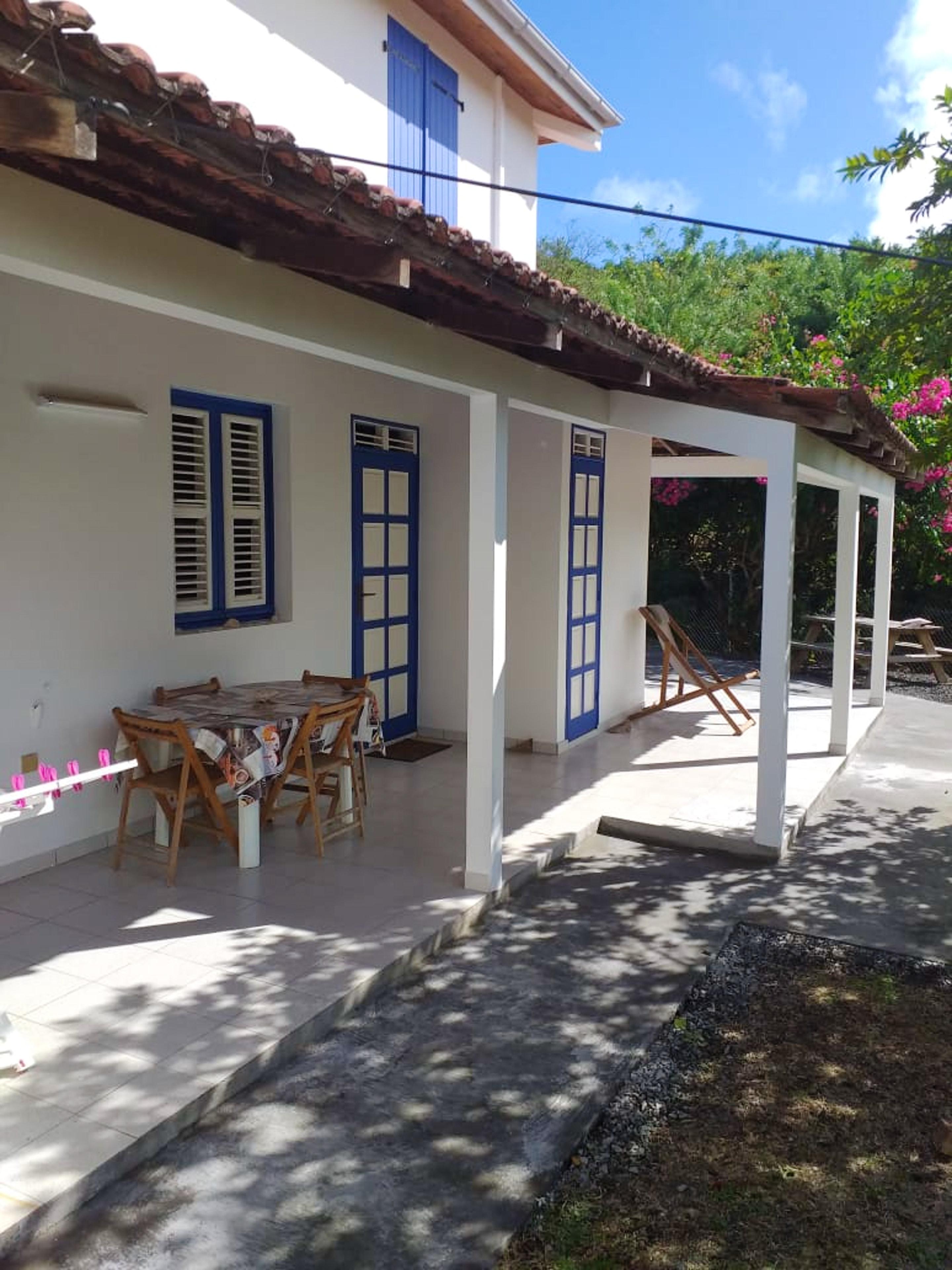 Apartamento de 2 habitaciones en Le Marin, con jardín amueblado y WiFi - a 800 m de la playa