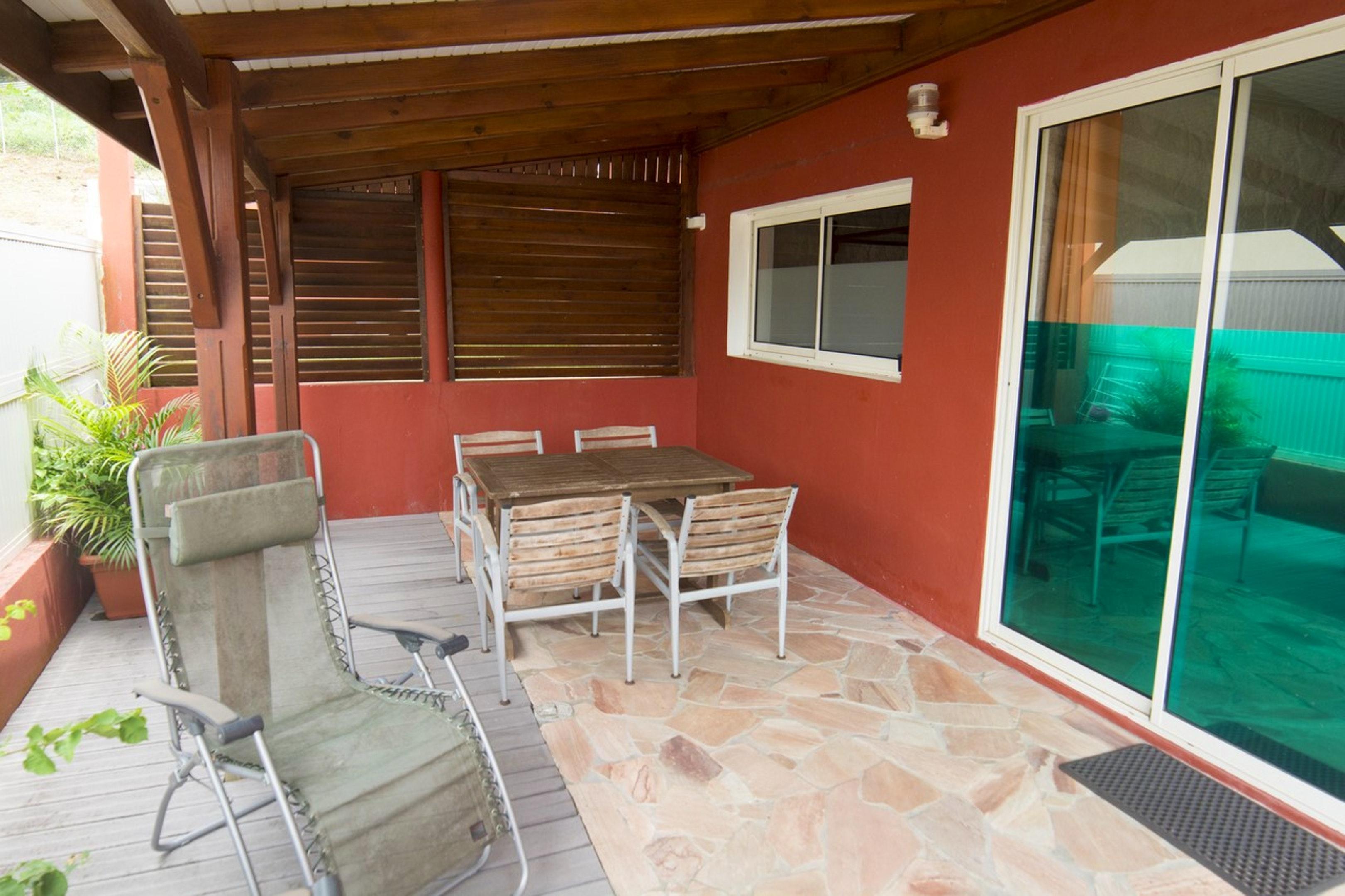 Apartamento de una habitación en Fort-de-France, con terraza amueblada y WiFi - a 4 km de la playa