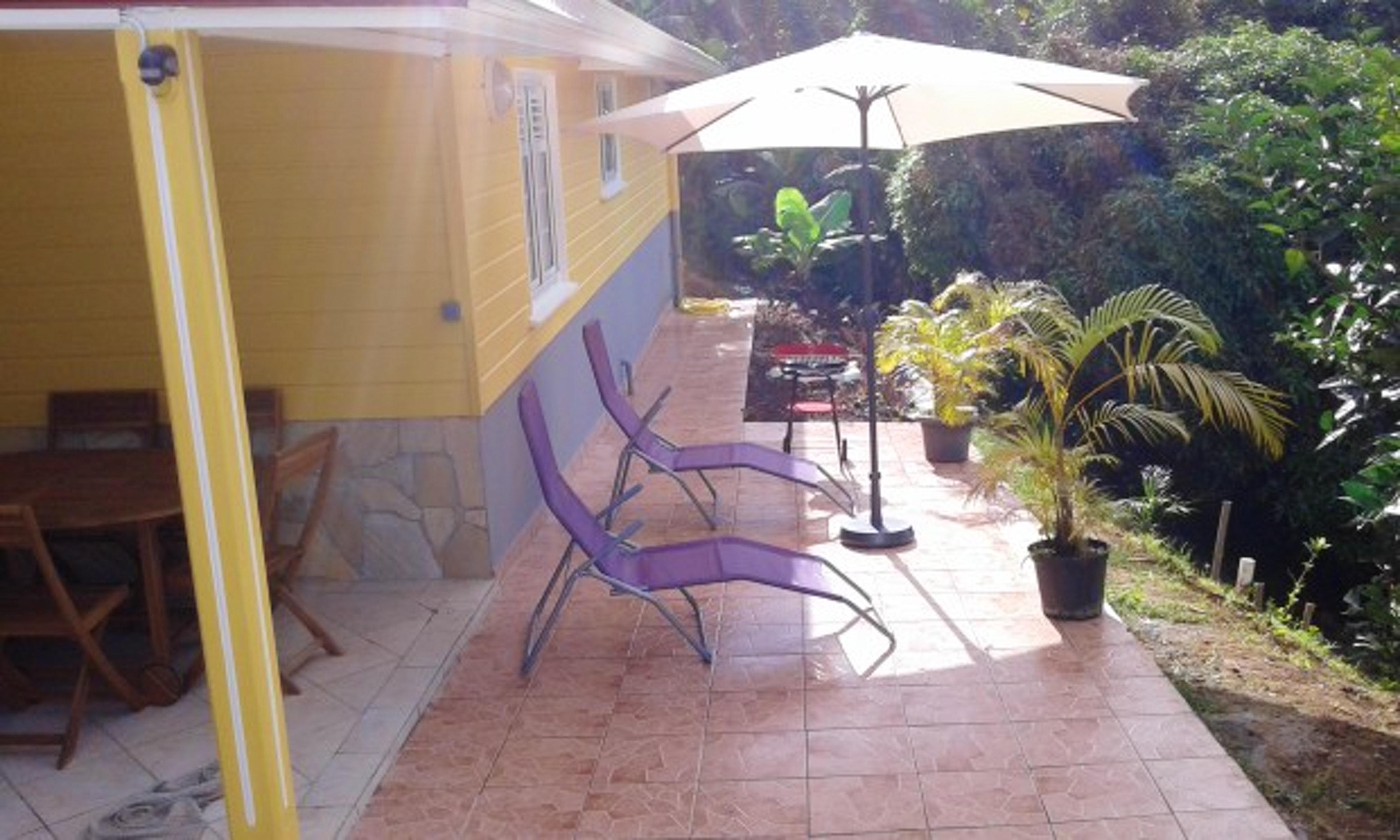 Wohnung mit 2 Schlafzimmern in Le Marin mit möbliertem Garten und W-LAN - 10 km vom Strand entfernt