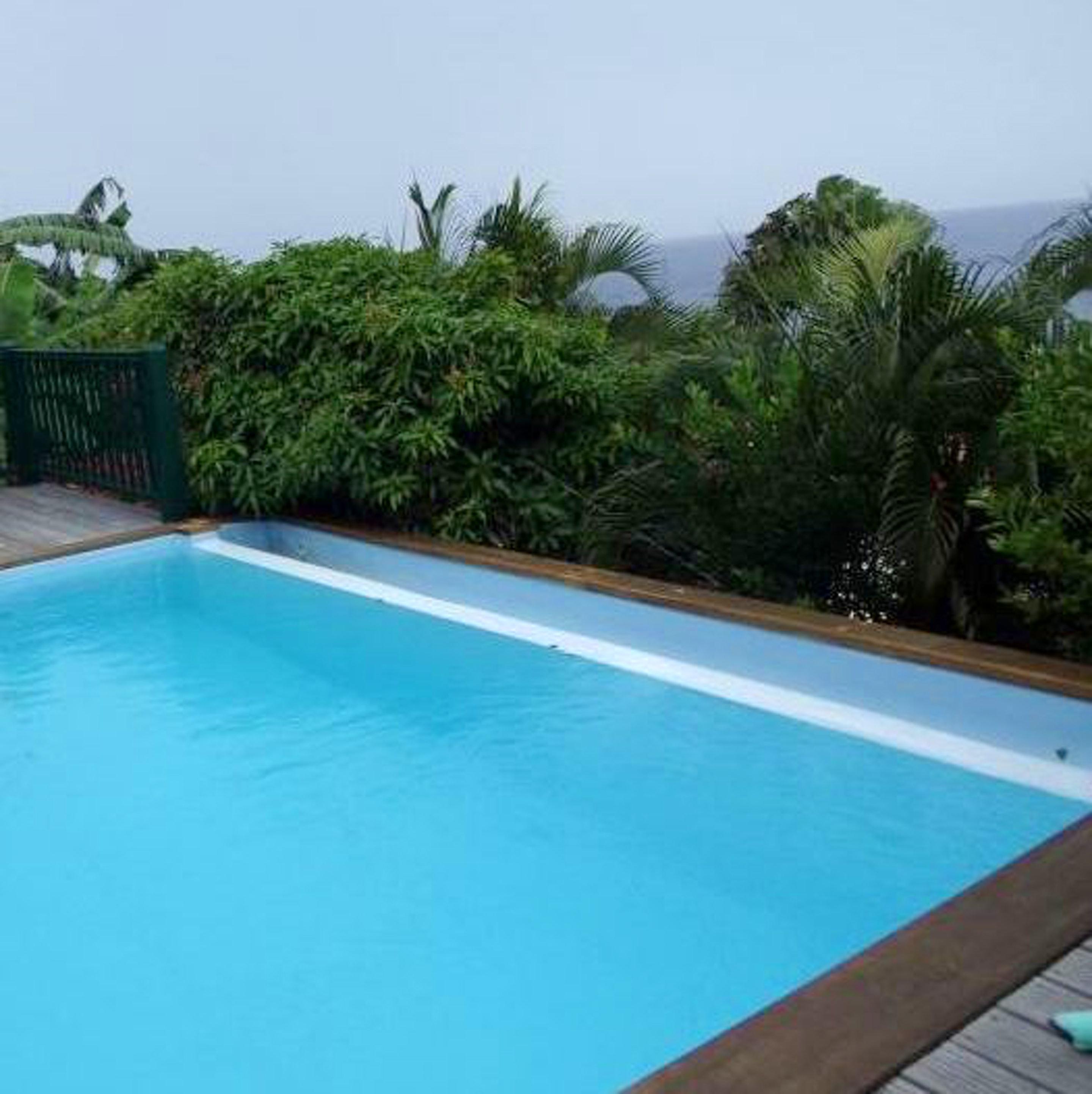 Villa mit 2 Schlafzimmern in Les Anses-d'Arlet mit herrlichem Meerblick, privatem Pool, eingezäuntem Garten