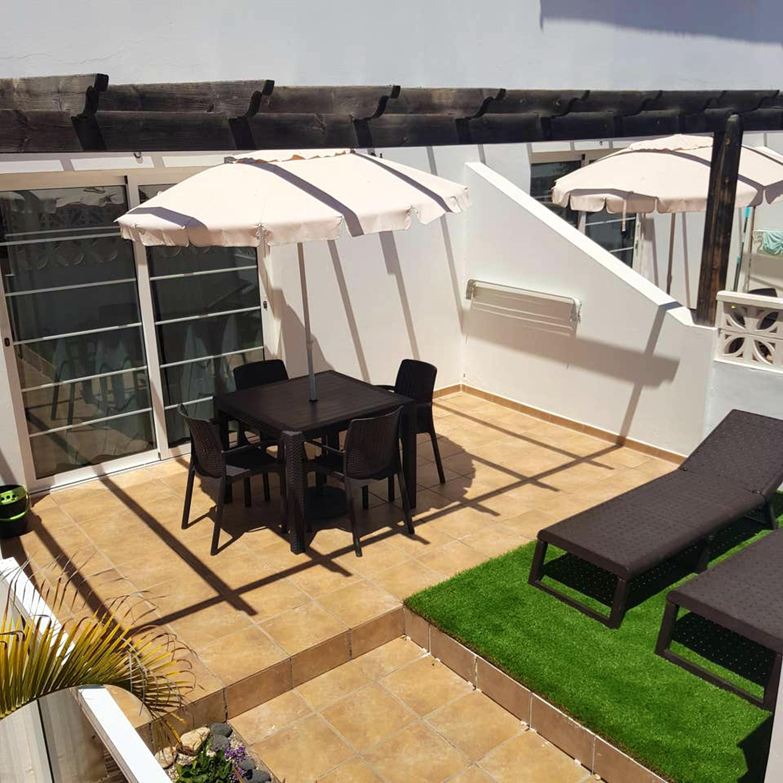 Wohnung mit einem Schlafzimmer in Corralejo mit Pool und möblierter Terrasse