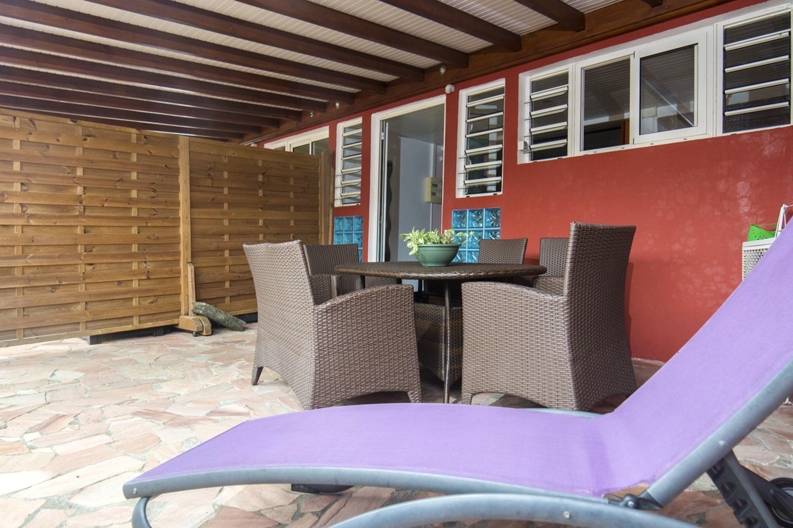 Apartamento de 2 habitaciones en Fort-de-France, con terraza amueblada y WiFi - a 4 km de la playa