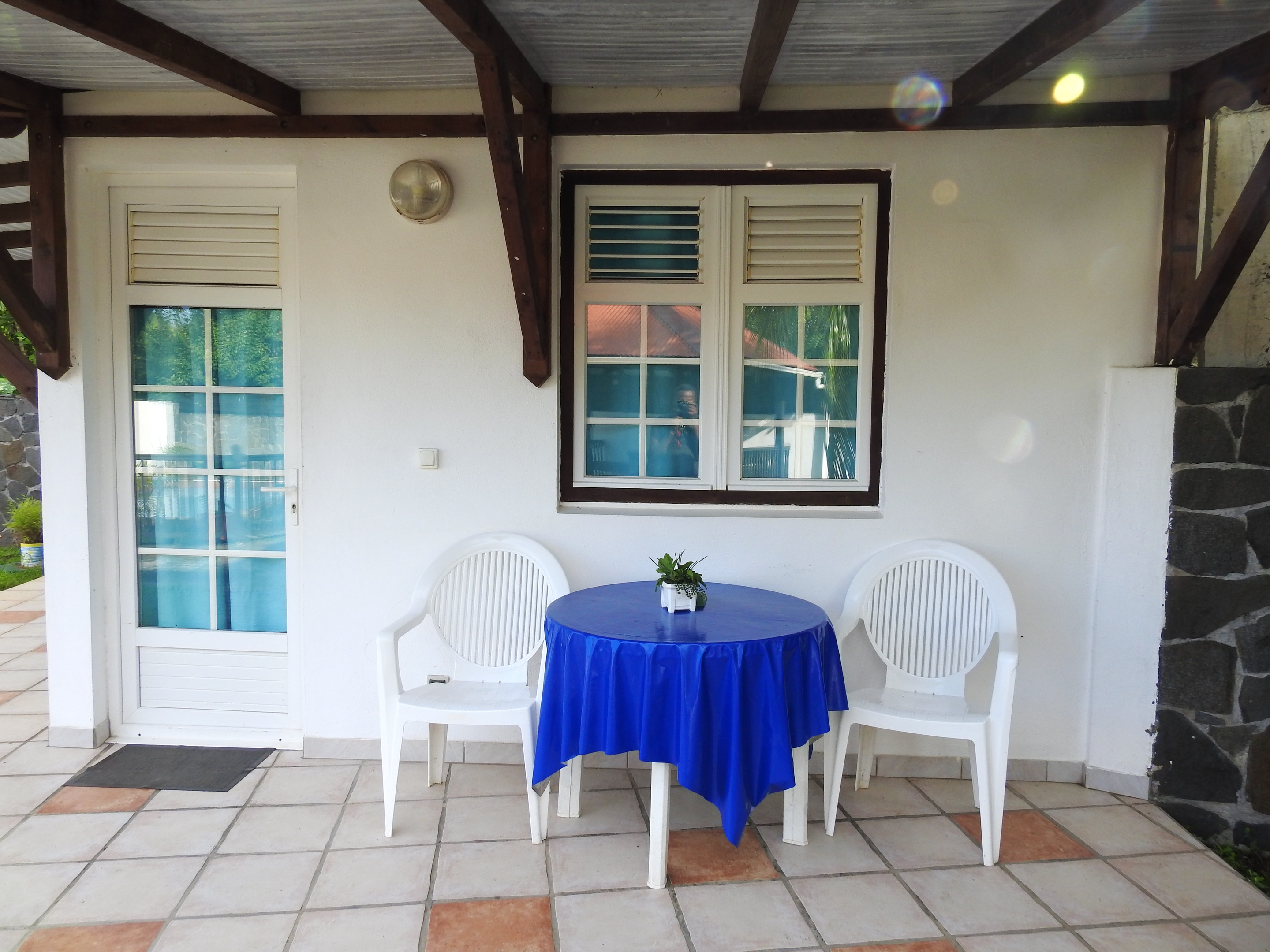 Studio in Le Robert, with shared pool, furnished garden and WiFi