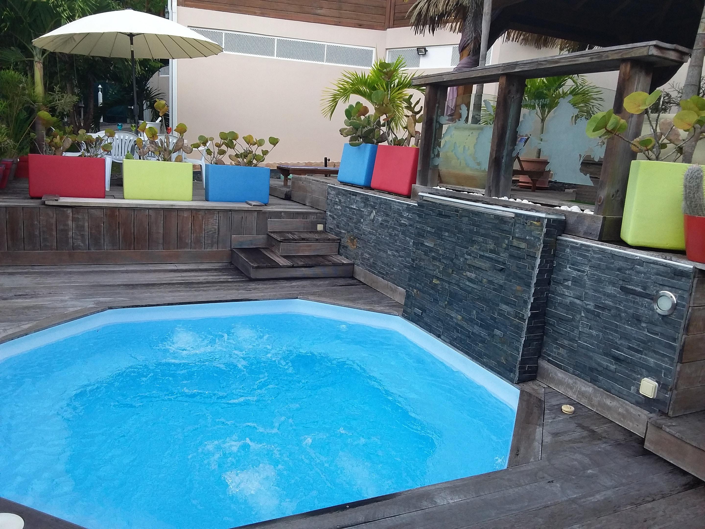 Villa mit 3 Schlafzimmern in Sainte Anne mit priva Villa in Mittelamerika und Karibik