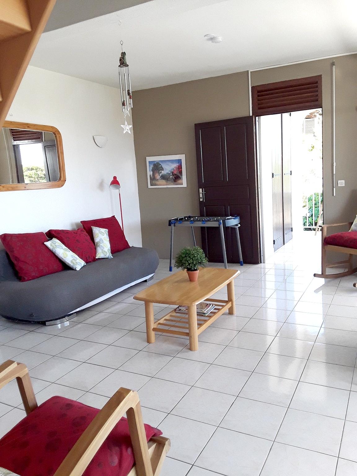 Villa mit 3 Schlafzimmern in Sainte Anne mit herrl Villa in Guadeloupe