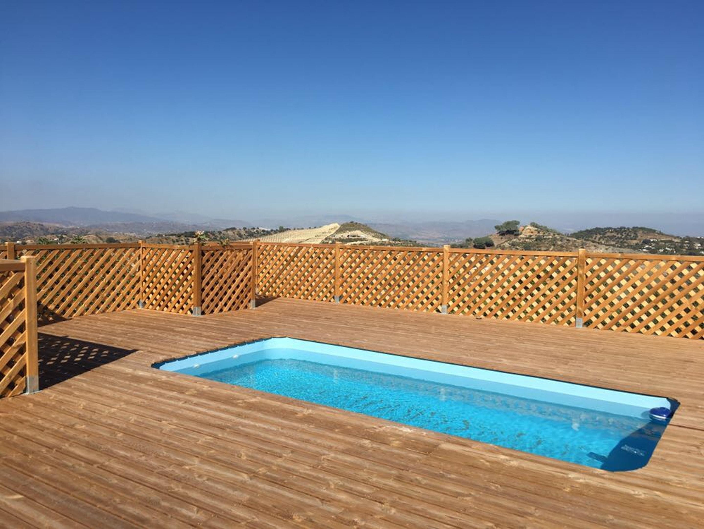 Villa mit 2 Schlafzimmern in Coín mit toller Aussicht auf die Berge privatem Pool eingezäuntem Garten 30 km vom Strand entfernt