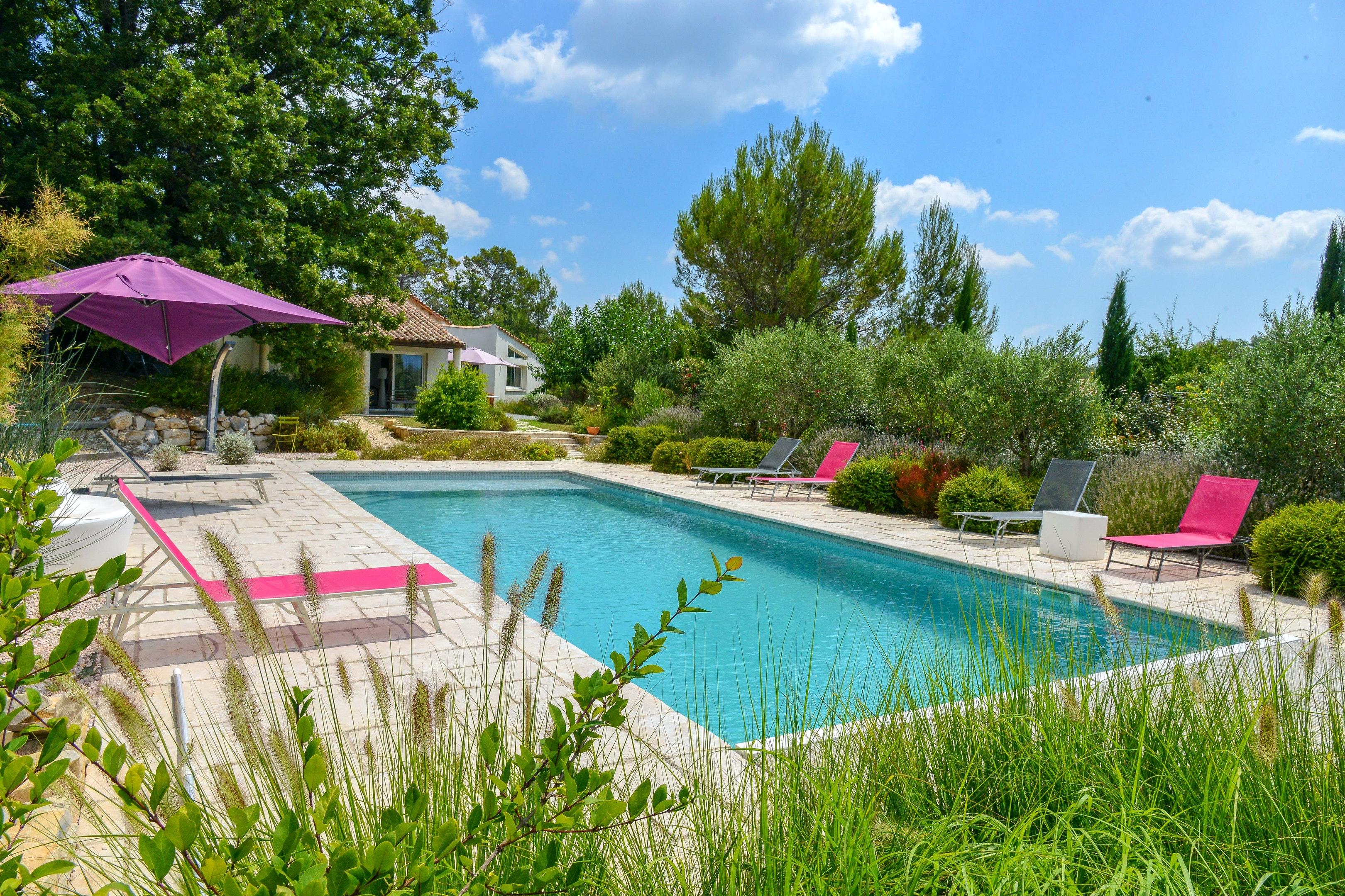 Holiday house Villa mit 5 Schlafzimmern in Garéoult mit privatem Pool, möbliertem Garten und W-LAN - 37  (2425177), Garéoult, Var, Provence - Alps - Côte d'Azur, France, picture 1